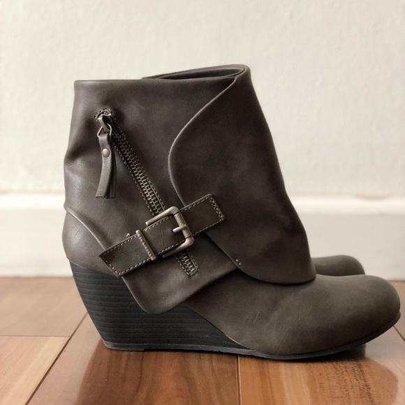 e58a6de3457 Blowfish Shoes -  Blowfish Malibu  gray ankle boots like new